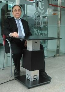 Mesa climatizada de Sdabar Design