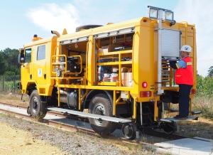 Vehículo ferroviario bimodal
