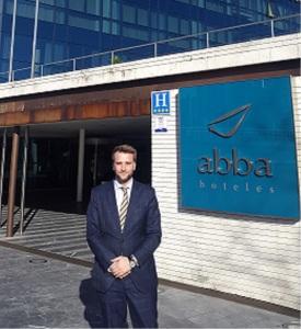 Daniel Martinez, Director Hotel Abba Playa Gijón