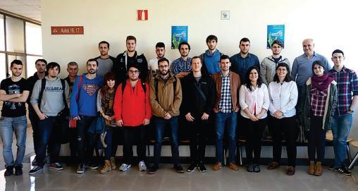 Estudiantes del Master MAIIND (Curso 2015-16) - Universidad de Oviedo.
