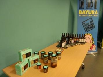 Exposición productos de las empresas participantes en el proyecto