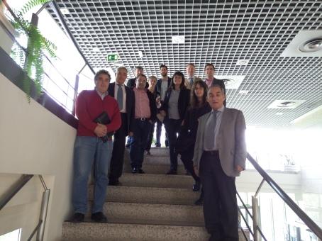 Grupo de asistentes al Instituto de Ciencia de Materiales de Madrid